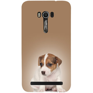 Snapdilla Good Looking Stylish Cute Puppy Dog Lovers Stunning Pleasant Back Cover For Asus Zenfone Go ZC500TG