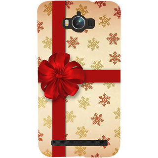 Snapdilla Unique Colorful Snow Flakes Pattern Beautiful Red Flower Gift Wrap Cell Cover For Asus Zenfone Max ZC550KL :: Asus Zenfone Max ZC550KL 2016 :: Asus Zenfone Max ZC550KL 6A076IN