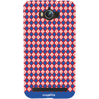 Snapdilla Cool Looking Stylish Anchor Locks Checks Pattern Multi Color Beautiful Designer Case For Asus Zenfone Max ZC550KL :: Asus Zenfone Max ZC550KL 2016 :: Asus Zenfone Max ZC550KL 6A076IN