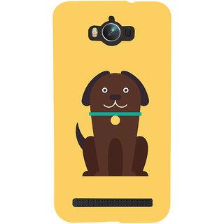 Snapdilla Artistic Modern Art Cute Puppy Cool Crazy Cartoon Designer Case For Asus Zenfone Max ZC550KL :: Asus Zenfone Max ZC550KL 2016 :: Asus Zenfone Max ZC550KL 6A076IN