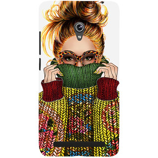 Snapdilla Colorful  Unique Page 3 Trend Setting Fancy Blonde Girl Cell Cover For Asus Zenfone 6 A600CG