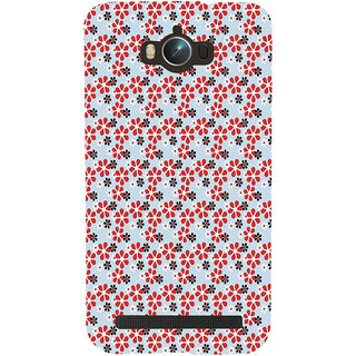 Snapdilla Artistic Floral Pattern Cool Trendy Light Background Mobile Cover For Asus Zenfone Max ZC550KL :: Asus Zenfone Max ZC550KL 2016 :: Asus Zenfone Max ZC550KL 6A076IN