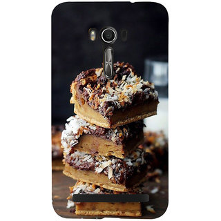 Snapdilla Chocolate Cake Desert Lovers Unique Cool Mobile Pouch For Asus Zenfone Go ZC500TG