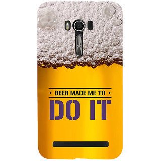 Snapdilla Awesome Beer Quote Night Club Party Bachelor Pub Life Cell Cover For Asus Zenfone Go ZC500TG
