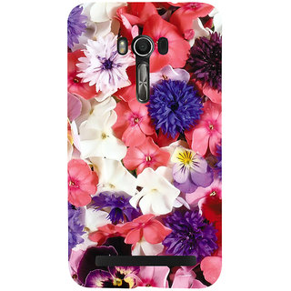 Snapdilla Artistic Lovely Floral Background Colorful Flowers Wifes Gift Smartphone Case For Asus Zenfone Go ZC500TG