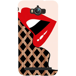 Snapdilla Sexy Hot Dream Girl Red Lips Sensual Face Back Cover For Asus Zenfone Max ZC550KL :: Asus Zenfone Max ZC550KL 2016 :: Asus Zenfone Max ZC550KL 6A076IN