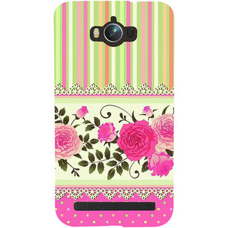 Snapdilla Colorful Pink Pattern Rangoli Lace Roses Different Mobile Pouch For Asus Zenfone Max ZC550KL :: Asus Zenfone Max ZC550KL 2016 :: Asus Zenfone Max ZC550KL 6A076IN