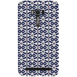 Snapdilla Gorgeous Blue Pattern Artistic Cute Cultural Best 3D Print Cover For Asus Zenfone Go ZC500TG