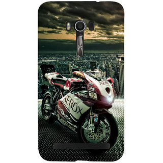 Snapdilla Vintage Heavenly Hollywood Motorcycle Bike Ride Bollywood Phone Case For Asus Zenfone Go ZC500TG