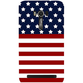 Snapdilla Bright Unique Superb American Usa Hollywood Flag 3D Print Cover For Asus Zenfone Go ZC500TG