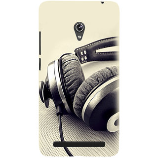 Snapdilla White Background Love Dj Party Hip Hop Music Beat Headphone Phone Case For Asus Zenfone 6 A600CG