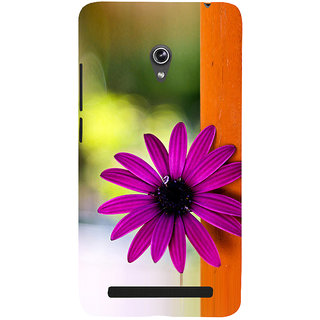 Snapdilla Lovely Artistic Pink Daisy Flower Simple Cool Unique Phone Case For Asus Zenfone 6 A600CG