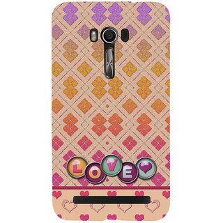 Snapdilla Different Unique Pattern Little Heart Love Girlfriend'S Gift 3D Print Cover For Asus Zenfone Go ZC500TG