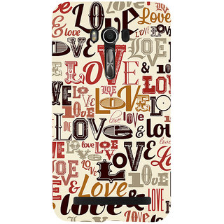 Snapdilla Different Styles Love Message Valentine Proposal For Girlfriend Mobile Case For Asus Zenfone Go ZC500TG