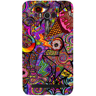Snapdilla Animated Colorful Different Looking Simple Cute Graffiti Mobile Case For Asus Zenfone Go ZC500TG