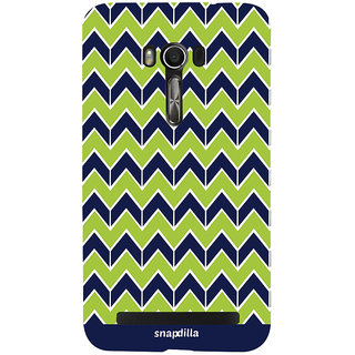 Snapdilla Crazy Cool Looking Creative Ethnic Stripes Pattern Artistic Superb Smartphone Case For Asus Zenfone Go ZC500TG