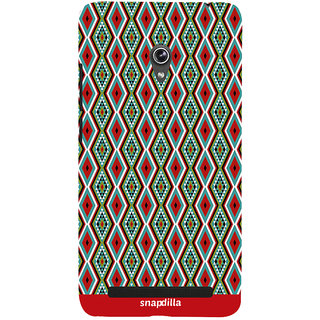 Snapdilla Cool Looking Wonderful Artistic Diamond Pattern Stunning Beautiful Mobile Pouch For Asus Zenfone 6 A600CG