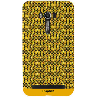 Snapdilla Crazy Different Looking Checks Pattern Stripes Simple Cool Smartphone Case For Asus Zenfone Go ZC500TG
