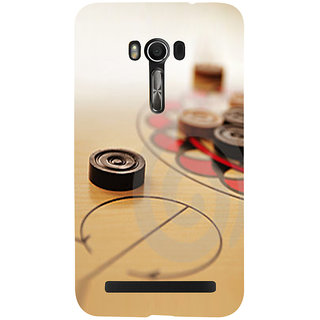 Snapdilla Good Looking Carrom Coin Artistic Designer Game Lovers Mobile Cover For Asus Zenfone Go ZC500TG