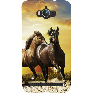 Snapdilla Sunset Wild Horse Run Superb Hd Photo Back Cover For Asus Zenfone Max ZC550KL :: Asus Zenfone Max ZC550KL 2016 :: Asus Zenfone Max ZC550KL 6A076IN