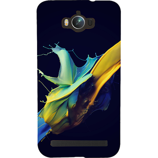 Snapdilla Multi Colour Modern Art Abstract Paint Animated Mobile Cover For Asus Zenfone Max ZC550KL :: Asus Zenfone Max ZC550KL 2016 :: Asus Zenfone Max ZC550KL 6A076IN