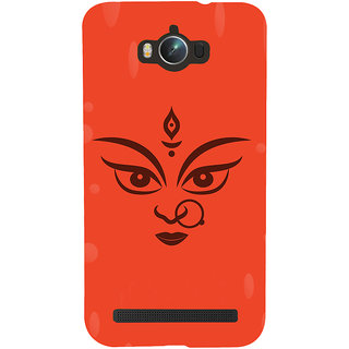 Snapdilla Hindu Religious Red Color Background Lord Durga Maa Kaali Cell Cover For Asus Zenfone Max ZC550KL :: Asus Zenfone Max ZC550KL 2016 :: Asus Zenfone Max ZC550KL 6A076IN