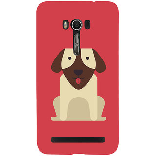 Snapdilla Artistic Clipart Cute Puppy Animated Cool Dog Smartphone Case For Asus Zenfone Go ZC500TG