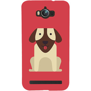 Snapdilla Artistic Clipart Cute Puppy Animated Cool Dog Smartphone Case For Asus Zenfone Max ZC550KL :: Asus Zenfone Max ZC550KL 2016 :: Asus Zenfone Max ZC550KL 6A076IN