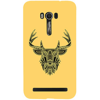 Snapdilla Modern ClipArt Impressive Deer Tattoo Good Looking Back Cover For Asus Zenfone Go ZC500TG