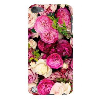 Snapdilla Pretty Pink Lovely Gorgeous Roses Artistic Floral Pattern Phone Case For Apple IPod Touch 5