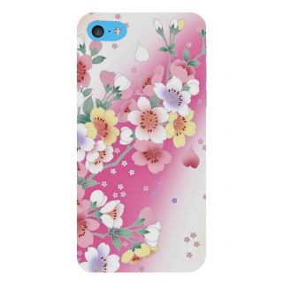 Snapdilla Artistic Floral Pink Background Modern Art Cool Painting Smartphone Case For Apple IPod Touch 6