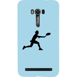 Snapdilla Blue Background Tennis Sports Lover Unique Mobile Cover For Asus Zenfone Go ZC500TG