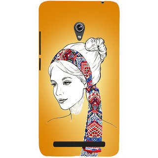 Snapdilla Unique Classic Girl Model Trendy Rare Painting Mobile Case For Asus Zenfone 6 A600CG