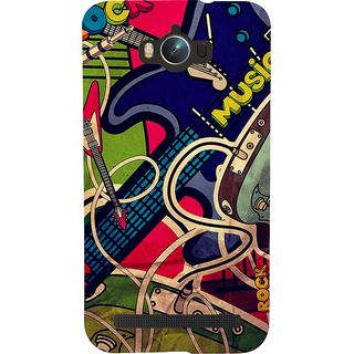 Snapdilla Love Guitar Music Graffiti Art Beautiful Designer Case For Asus Zenfone Max ZC550KL :: Asus Zenfone Max ZC550KL 2016 :: Asus Zenfone Max ZC550KL 6A076IN