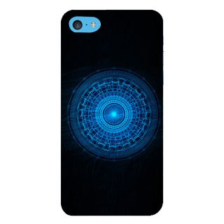 Snapdilla Cool Crazy Digital Sci-Fi Blue Wheel Unique Superb Mobile Case For Apple IPod Touch 6
