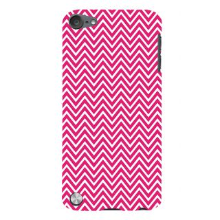 Snapdilla Cool Trendy Unique Pink Lines Stripes Pattern Simple Cell Cover For Apple IPod Touch 5