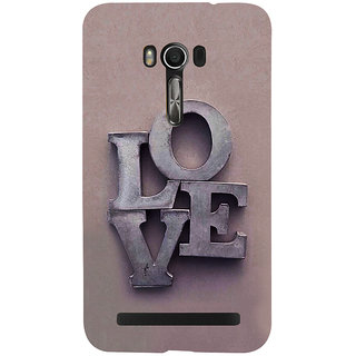 Snapdilla Light Background Memorial Feel Good Love Back Cover For Asus Zenfone Go ZC500TG