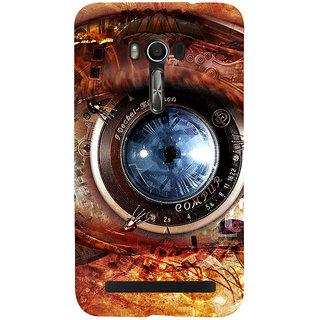 Snapdilla Animated Clipart Beautiful Vintage Photo Shoot Camera Lens Eye Designer Case For Asus Zenfone Go ZC500TG