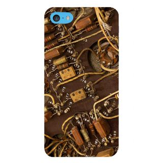 Snapdilla Silicon Electrical Electronics Circuit Board Resistor Phone Case For Apple IPod Touch 6