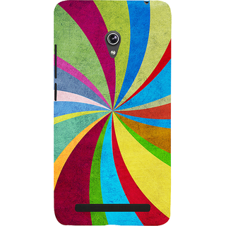 Snapdilla Funky Funny Old Texture Excellent Perfect Colorful Flashback 3D Print Cover For Asus Zenfone 6 A600CG