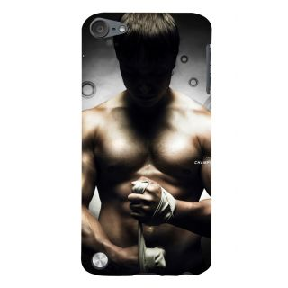 Snapdilla Six Pack Bruce Lee Martial Art Fitness Workout Gym Body Excercise Smartphone Case For Apple IPod Touch 5