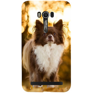 Snapdilla Cute Beautiful Puppy Dog Lovers Pet Lovers Unique Smartphone Case For Asus Zenfone Go ZC500TG