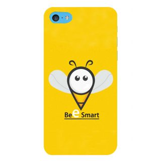 Snapdilla Artistic Creative Yellow Color Background  Bee Smart Quote Modern Smartphone Case For Apple IPod Touch 6