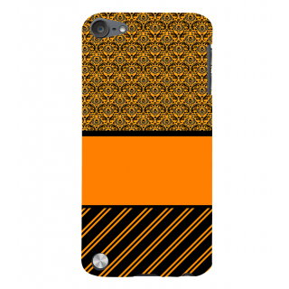 Snapdilla Yellow Background Multi Pattern Pretty Good Looking Uniqe Phone Case For Apple IPod Touch 5