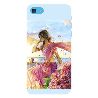 Snapdilla Artistic Lovely Girl Impressive Modernart Abstract Painting Mobile Pouch For Apple IPod Touch 6