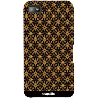 Snapdilla Artistic Ethnic Pattern Stunning Sober Looking Trendy Stylish 3D Print Cover For BlackBerry Z10
