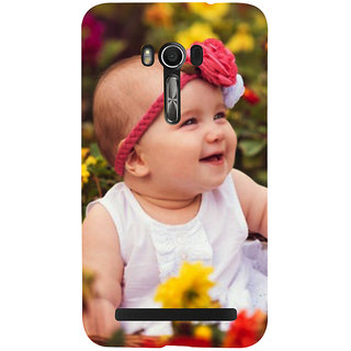 Snapdilla Lovely Cute Looking Baby Girl Best Smile 3D Print Cover For Asus Zenfone Go ZC500TG
