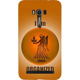 Snapdilla Organized Virgo Zodaic Sign Horoscope Cool I Am Virgo Kanya Raasi Posh Mobile Case For Asus Zenfone Go ZC500TG