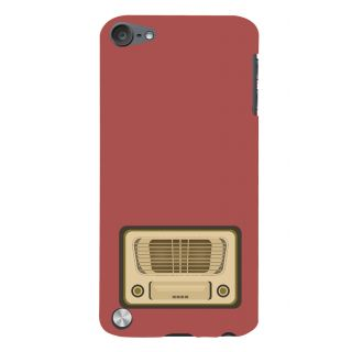 Snapdilla Artistic Clipart Vintage Radio Superb Rocking  Music Lovers Mobile Case For Apple IPod Touch 5
