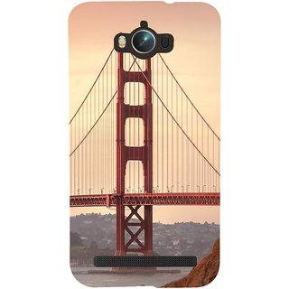 Snapdilla Creative Modern Art Golden Gate Bridge Architecture Stylish Phone Case For Asus Zenfone Max ZC550KL :: Asus Zenfone Max ZC550KL 2016 :: Asus Zenfone Max ZC550KL 6A076IN